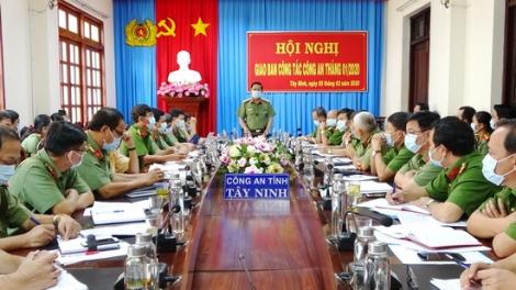 Công an Tây Ninh: Tập trung giải quyết tốt các vấn đề an ninh trật tự nổi lên