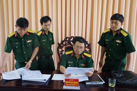 Bộ Tư lệnh Quân khu 7 kiểm tra công tác kiểm kê vũ khí trang bị kỹ thuật tại Sư đoàn 5
