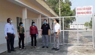 Bến Cầu: Kiểm tra khu cách ly, điều trị người nghi nhiễm bệnh nCoV tại TTYT huyện