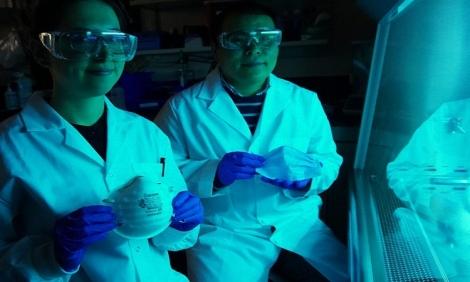 Khẩu trang phủ muối có thể vô hiệu hóa virus corona