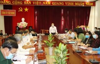 Ban Tuyên giáo Tỉnh uỷ: Hội nghị báo cáo viên tháng 2.2020