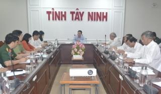 Góp ý dự thảo Kế hoạch tổ chức hoạt động khu vực cách ly tập trung các ca nghi nhiễm virus corona tại Tây Ninh
