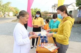 Hội LHPN các xã tuyên truyền phòng chống dịch bệnh nCoV