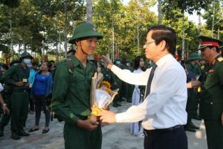 Tây Ninh tổ chức lễ giao nhận quân năm 2020