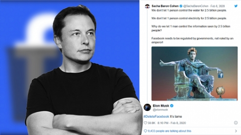 """Elon Musk: """"Hãy xóa Facebook vì nó dở tệ"""""""