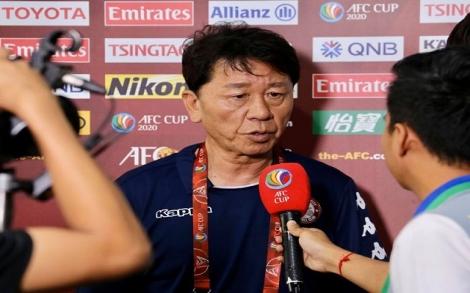 HLV Chung Hae Song nói gì về trận hòa của Công Phượng và đồng đội?