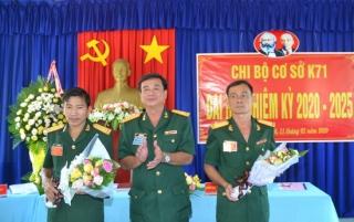 Chi bộ cơ sở K71-Đảng bộ quân sự tỉnh Tây Ninh