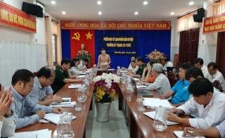 UBND huyện Bến Cầu họp phiên thường kỳ tháng 2.2020