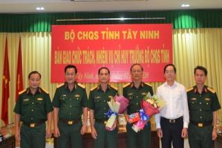 Đại tá Ngô Thành Đồng giữ chức vụ Chỉ huy trưởng Bộ CHQS tỉnh