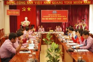 Chi bộ Hành chính- Lưu trữ, Cơ yếu- CNTT tổ chức Đại hội nhiệm kỳ 2020- 2022