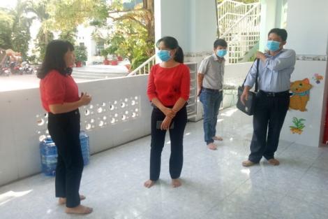TP.Tây Ninh kiểm tra công tác phòng, chống dịch bệnh Covid-19 tại các trường học
