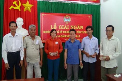 TP.Tây Ninh: Hoàn thành việc giải ngân hỗ trợ nông dân