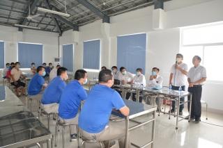 Trên 100 cá nhân ở Công ty Luthai (Tân Châu) cách ly đủ 14 ngày, không có trường hợp mắc Covid-19
