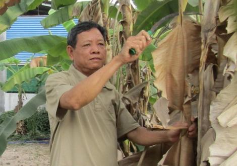 Một cựu chiến binh tích cực giữ gìn an ninh trật tự xóm làng