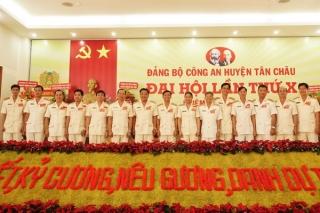 Thượng tá Lê Văn Thuận tái đắc cử chức vụ Bí thư Đảng ủy