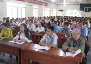 Tân Biên: Triển khai chuyên đề học tập và làm theo tư tưởng, đạo đức, phong cách Hồ Chí Minh năm 2020