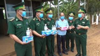 Tây Ninh: Tiếp tục đẩy mạnh công tác phòng, chống dịch Covid-19 trên tuyến biên giới