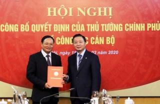 Công bố quyết định của Thủ tướng Chính phủ về công tác cán bộ.