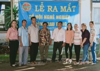 Ra mắt Tổ hội nghề nghiệp trồng rau rừng Phước Ninh
