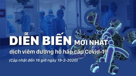 Diễn biến mới nhất dịch viêm đường hô hấp cấp Covid-19