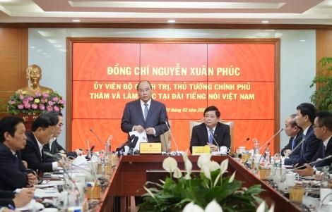 Thủ tướng làm việc với Đài Tiếng nói Việt Nam