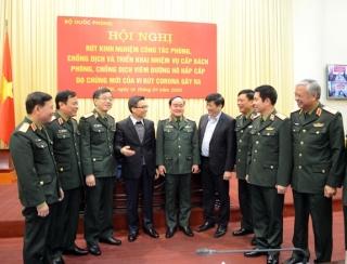 Quân đội góp phần đặc biệt quan trọng trong công tác phòng, chống dịch Covid-19