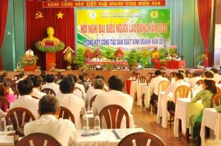 Hội nghị đại biểu người lao động Công ty Cổ phần Cao su Tây Ninh