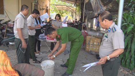 Tân Biên: Tiêu hủy tang vật, dụng cụ sử dụng ma túy và một số tang vật khác