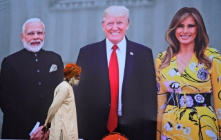 Tổng thống Mỹ thăm chính thức Ấn Độ