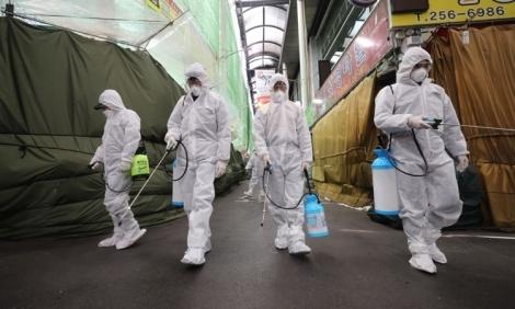 Hơn 1/2 ca nhiễm nCoV ở Hàn Quốc liên quan tới Tân Thiên Địa