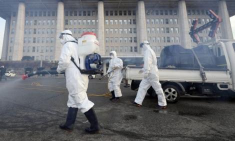 Gần 900 người nhiễm Covid-19 tại Hàn Quốc