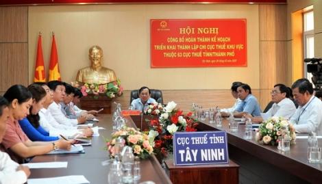 Hoàn thành kế hoạch triển khai thành lập Chi cục thuế khu vực