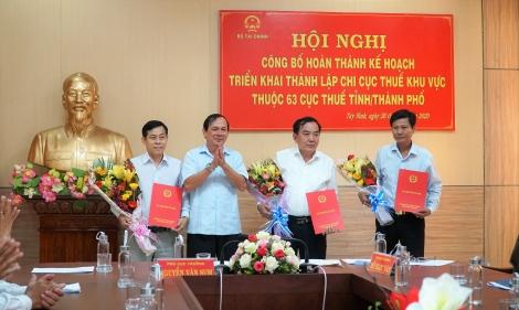 Tây Ninh: Hợp nhất Chi cục Thuế cấp huyện thành 3 chi cục khu vực