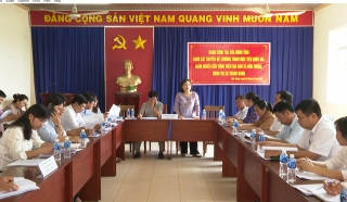HĐND tỉnh: Khảo sát công tác giảm nghèo tại thị xã Trảng Bàng