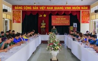 Tuổi trẻ LLVT Tân Châu nói không với vi phạm pháp luật, kỷ luật