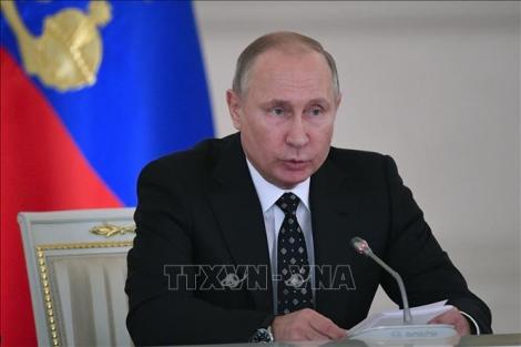 Nga thông báo trưng cầu ý dân về sửa đổi hiến pháp