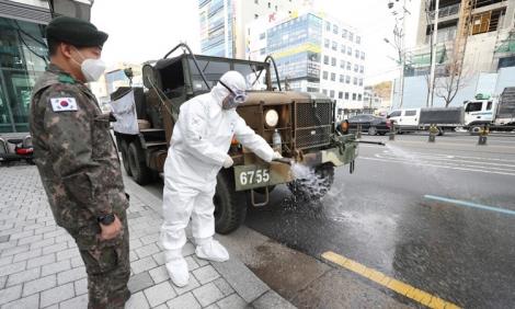 Số ca nhiễm mới nCoV ở Hàn Quốc vượt Trung Quốc