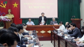 Hoàn thiện dự thảo Báo cáo Chính trị xin ý kiến Đại hội Đảng các cấp