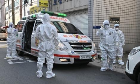 Số ca nhiễm Covid-19 ở Hàn Quốc lên hơn 2.000