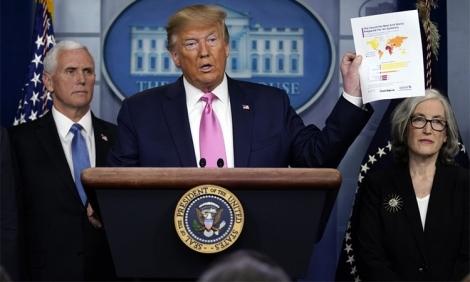 Tổng thống Trump có thể dùng 'đặc quyền' đối phó Covid-19