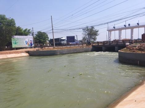 Tiết kiệm nước, bảo đảm an toàn sản xuất nông nghiệp