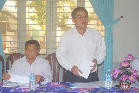 HĐND tỉnh: Khảo sát kết quả thực hiện Chương trình mục tiêu quốc gia giảm nghèo bền vững ở Bến Cầu