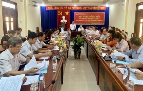 Khối thi đua huyện, thành phố tổng kết công tác năm 2019, triển khai nhiệm vụ năm 2020