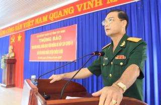 Bộ CHQS tuyên truyền phòng chống dịch bệnh Covid-19