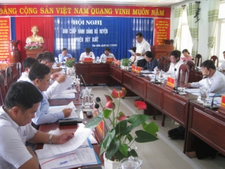 Tân Biên họp đóng góp ý kiến văn kiện đại hội