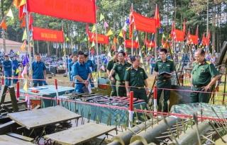 """Tân Châu quán triệt nhiệm vụ huấn luyện năm 2020 và phát động đợt thi đua cao điểm """"Đoàn kết, lập công, quyết thắng"""""""