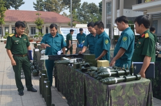 Hoà Thành: Quán triệt nhiệm vụ huấn luyện chiến đấu năm 2020