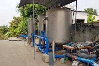 Xây dựng nhà máy cấp nước tập trung An Thới là cần thiết