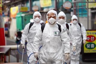 Hàn Quốc ghi nhận 293 ca nhiễm mới Covid-19, tổng số ca nhiễm vượt quá 5.600 ca