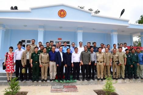 Hội đàm nâng cấp cặp cửa khẩu Tân Nam – Mean Chay thành cửa khẩu quốc tế